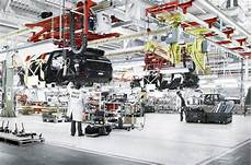 Jaguar Land Rover Solihull Plant Begins Two Week Shutdown