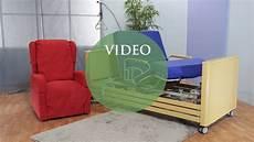 ausili per disabili letti letto rotante con alzata assistita per degenti anziani e