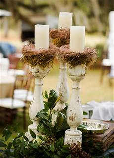 unique pretty wedding centerpieces without a flower in