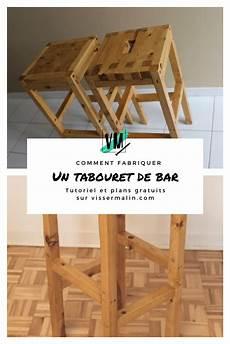 56 Fabriquer Un Tabouret De Bar Vissermalin