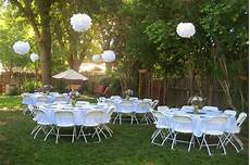 our backyard wedding reception on a tight budget description from pinterest com i searched for