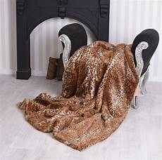 copriletto leopardato coperta di pelliccia leopardato plaid eco pelliccia