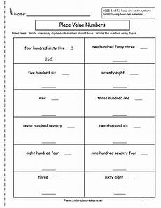 place value and value of numbers worksheets 5620 second grade place value worksheets