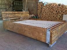 Bauholz Bett Ger 252 Stbohlen Holzart Usedom Auf Dawanda