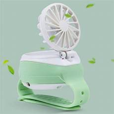 Bakeey Mini Handheld Gears Adjustable Hanging by Alarm Systems Bakeey Usb Small Pocket Fan Usb