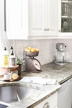 done wright home improvement diy pressed tin kitchen