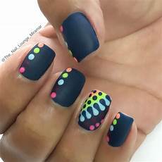 bright colorful dots nail art design dot nail art nails