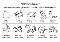 animal worksheets doc 13833 animals colours worksheet teaching resources