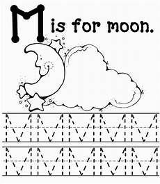 letter m activity worksheets 24287 m coloring sheets letter m worksheets moon coloring pages moon activities