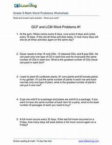 photos lcm gcf word problems worksheet drawings art gallery