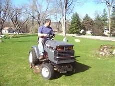 slicks garage lawn mower jacked up craftsman lt6000 doovi
