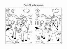 www kinder malvorlagen fehler suchen ausmalbild r 228 tselbilder fehlersuchbild esel kostenlos
