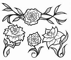 disegni da colorare e stare di fiori pics of flowers tattoos cliparts co