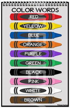 colors printable word 12830 color words poster by johnson creations teachers pay teachers