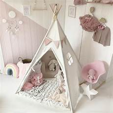 Tipi Fille Ikea Tiny Land Teepee Tent Children Play Tent With Mat