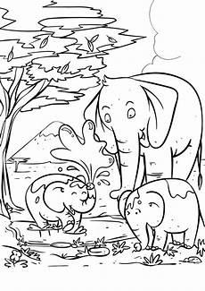 Malvorlagen Umwelt Mit Kindern Elefanten Ausmalbilder Genial Gallery Of Malvorlagen