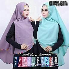 Jilbab Syar I Khimar Sabrina Model Terbaru 2017 Panjang