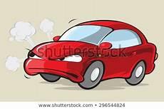 car angers fender bender stock illustrations