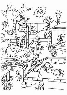 Easy Zoo Coloring Pages Get This Easy Preschool Printable Of Zoo Coloring Pages