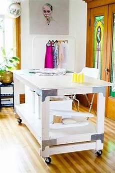 20 diy craft tables and desks