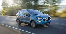 Review 2018 Ford Ecosport Suv Arrives Late And Struggles