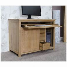 hidden home office furniture nero solid oak furniture hidden home office computer desk