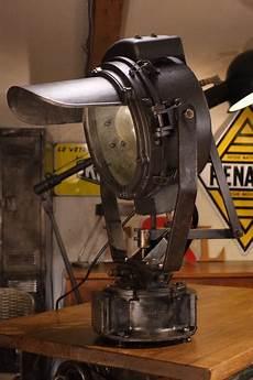 Enorme Projecteur Bbt Ancien D 233 Coration Industrielle