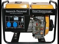 Inverter Stromerzeuger Diesel - stromgenerator diesel stromerzeuger diesel ht 3600