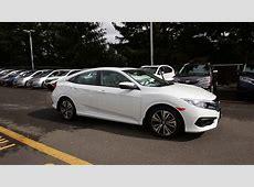 2016 Honda Civic EX T   White   GH637685   Seattle