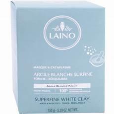 laino masque argile blanche surfine 150g
