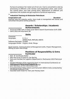 resume format download for freshers world of reference