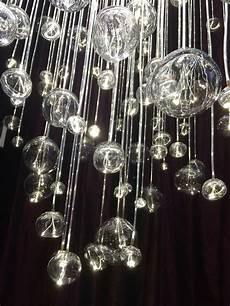 pluie de bulles de verre souffl 233 de murano et fibre