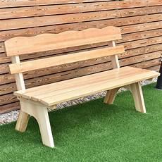 Giantex 5 Ft 3 Seats Outdoor Wooden Garden Bench Chair