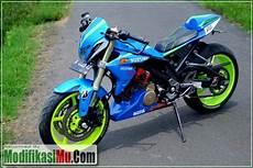 Modifikasi Satria Fu Sederhana Tapi Keren by Modifikasi Suzuki Satria Fu 150 Ala Moto Gp Sederhana Tapi