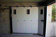 porte de garage motorisee ouverture laterale tout pour
