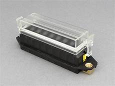 12 volt fuse box and cover standard blade fuse box for panel mounting 8 way 12 volt planet