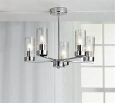buy heart of house wallis 5 light glass ceiling light chrome at argos co uk your online shop