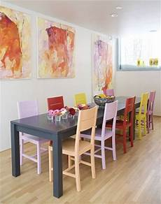 how to paint your dining room table and chairs diy and crafts