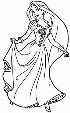Kostenlose Malvorlagen Rapunzel The Best Disney Tangled Rapunzel Coloring Pages