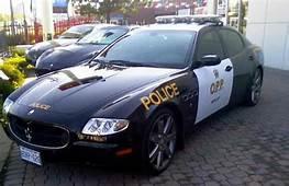 17Maserati Quattroporte Sport GT 25 Fastest Police