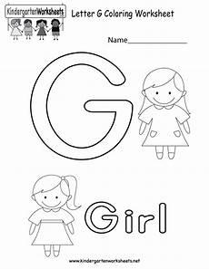 letter g worksheet for kindergarten 23487 letter g alphabet coloring worksheet for in preschool or kindergarten you c