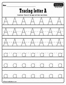 alphabet tracing worksheets a z free printable bundle