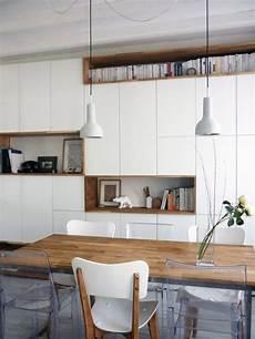 mur rangements blanc bois scandinave meuble rangement