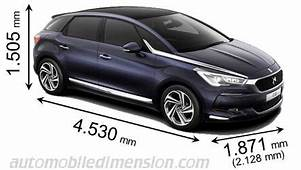DS DS5 2015 Dimensions Boot Space And Interior