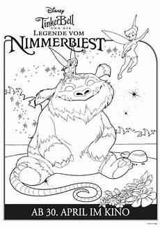 Malvorlagen Sommer Legend Tinkerbell Und Die Legende Vom Nimmerbiest Kinder De