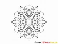 Ausmalbild Schneeflocken Mandala Schneeflocke Muster Mandala Vorlage Zum Drucken Und Malen