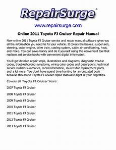 online service manuals 2011 toyota fj cruiser on 2011 toyota fj cruiser repair manual service manual online
