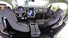 Tesla Model X 2016 Dimensions Boot Space And Interior