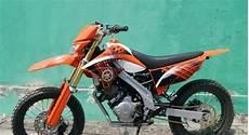 Jupiter Mx Modif Trail Ktm by Modifikasi Supermoto Yamaha Jupiter Mx 135 Tidak Kalah