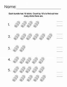 counting groups of 10 worksheet by mrs thompson teaches tpt
